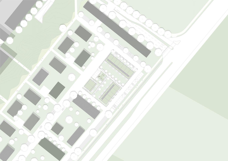 Neue Stadtmitte Rheinstetten Baufeld B 3
