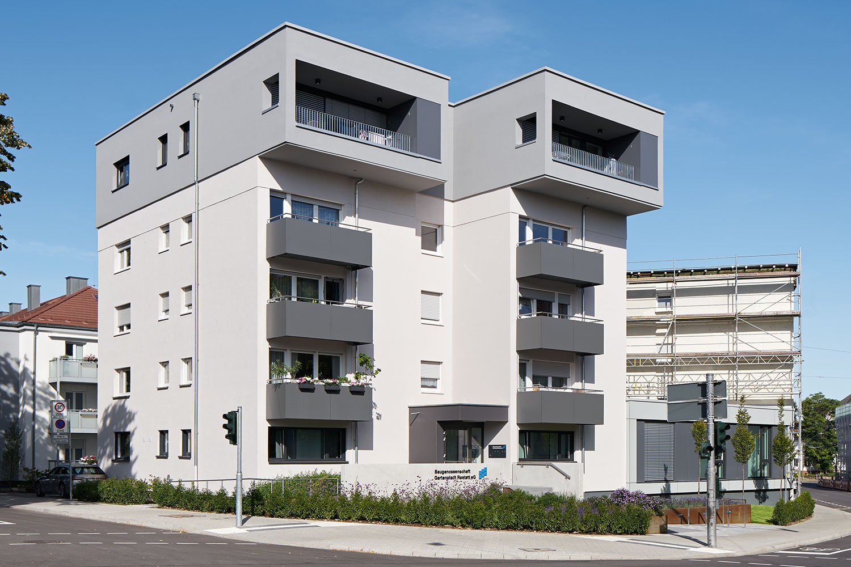Umbau & Erweiterung Wohn- und Bürohaus Carl-Schurz-Straße