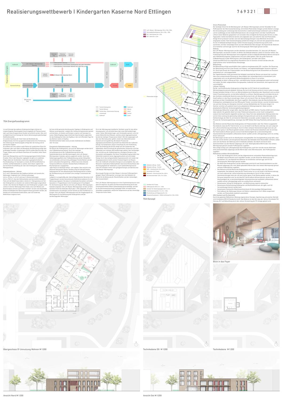 Realisierungswettbewerb Kiga Kaserne Nord Ettlingen