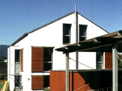 projeke einfamilienh user vom architekt architectoo. Black Bedroom Furniture Sets. Home Design Ideas