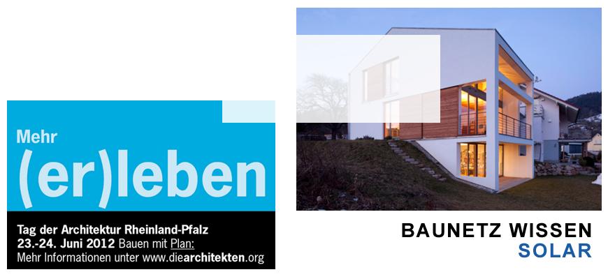 Tag der Architektur, Baunets Wissen Solar