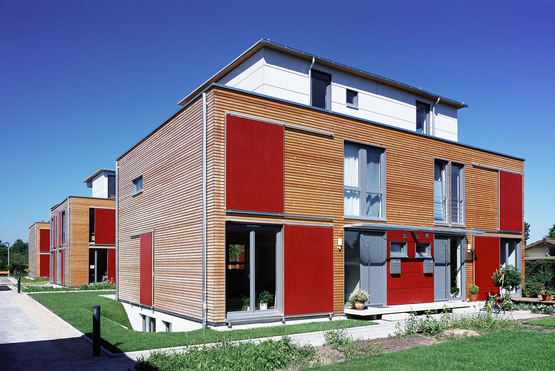 Baugruppe Holzhäuser, Karlsruhe