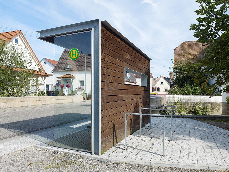 Bushaltestelle / Waschplatz, Leimersheim